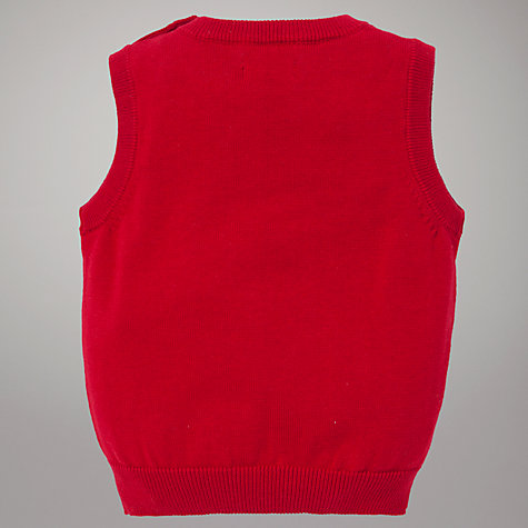 Buy Gant Cotton Tank Top, Red Online at johnlewis.com