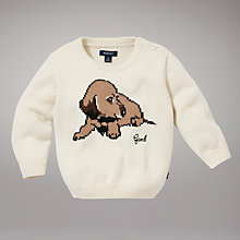 Buy Gant Puppy Crew Neck Jumper Online at johnlewis.com