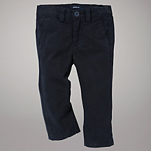 Buy Gant Chino Trousers, Navy Online at johnlewis.com