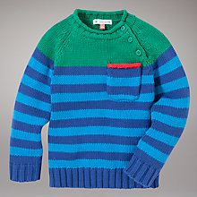 Buy John Lewis Colour Block Striped Jumper, Multi Online at johnlewis.com