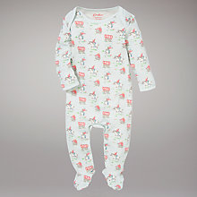 Buy Cath Kidston Cowboy Sleepsuit, Blue Online at johnlewis.com