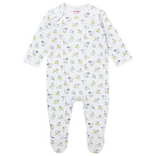 Buy Cath Kidston Lambs Sleepsuit, White Online at johnlewis.com
