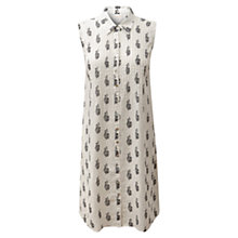 Buy East Reina Shirt Dress, White Online at johnlewis.com