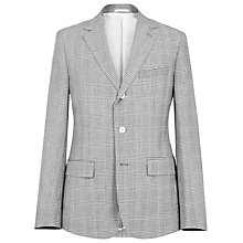 Buy Reiss Sunseeker Wool Linen Check Blazer Online at johnlewis.com
