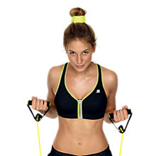 Buy Shock Absorber Zip Sports Bra Online at johnlewis.com