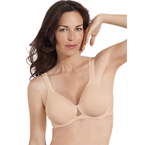Buy Playtex Absolu Comfort T-Shirt Bra, Skin Online at johnlewis.com