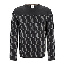Buy Kin by John Lewis Intarsia Jumper, Grey Online at johnlewis.com