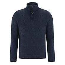 Buy John Lewis Laguna Button Neck Jumper Online at johnlewis.com