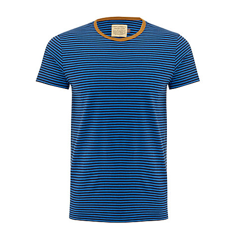 Buy JOHN LEWIS & Co. Contrast Slim Stripe Short Sleeve T-Shirt Online at johnlewis.com