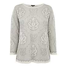 Buy Warehouse Fleur de Lis Jumper Online at johnlewis.com