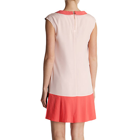 Buy Ted Baker Judeo Colour Block Dress, Coral Online at johnlewis.com