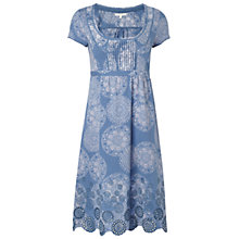 Buy White Stuff Back To Town Dress, Moonstone Online at johnlewis.com