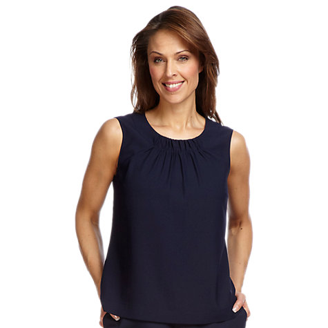 Buy Windsmoor Shell Top, Blue Online at johnlewis.com