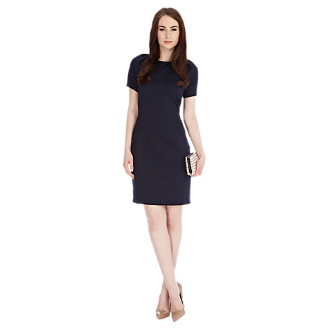 Buy Coast Oxford Dress, Navy Online at johnlewis.com