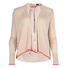 Buy Ted Baker Decima Bottle Print Cardigan, Shell Online at johnlewis.com