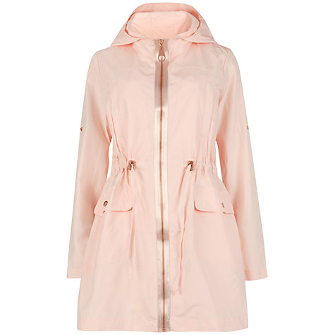 Buy Ted Baker Shell Hood Drawstring Coat Online at johnlewis.com