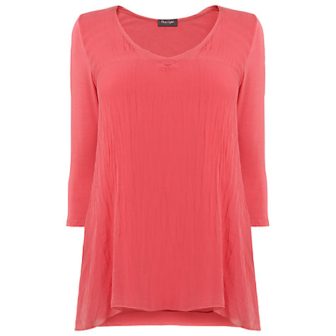 Buy Phase Eight Maude Tunic, Peony Online at johnlewis.com