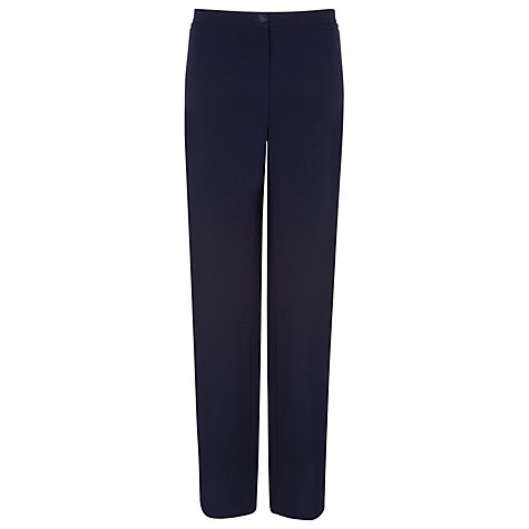 Buy Windsmoor Tailored Trousers, Blue Online at johnlewis.com
