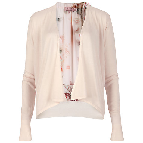 Buy Ted Baker Marali Opulent Bloom Cardigan, Shell Online at johnlewis.com