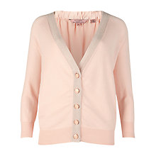 Buy Ted Baker Molla Tea Party Printed Cardigan, Shell Online at johnlewis.com