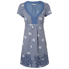 Buy White Stuff High Summer Kaftan Dress, Dark Dream Blue Online at johnlewis.com