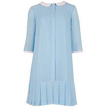 Buy Ted Baker Chlo Peter Pan Dress, Light blue Online at johnlewis.com