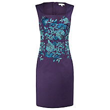 Buy Kaliko Embroidered Dress, Blue Online at johnlewis.com