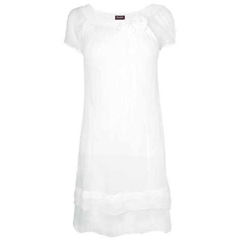 Buy Phase Eight Made in Italy Gypsy Rose Dress, White Online at johnlewis.com