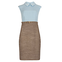 Buy Ted Baker Shirt Dress, Blue/Stone Online at johnlewis.com