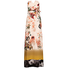 Buy Ted Baker Aymay Bloom Dress, Shell Online at johnlewis.com