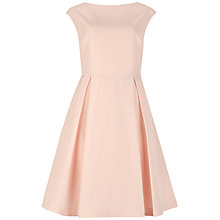Buy Ted Baker Friuli V-Back Dress, Cream Online at johnlewis.com