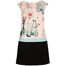 Buy Ted Baker Nama Tunic Dress, Shell Online at johnlewis.com