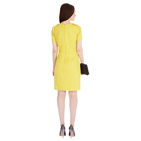 Buy Coast Oxford Dress, Yellow Online at johnlewis.com