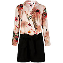 Buy Ted Baker Jealow Playsuit, Opulent Bloom Online at johnlewis.com