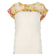 Buy Ted Baker Marlia Jumper, Ecru Online at johnlewis.com