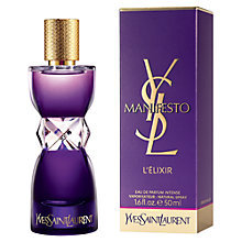 Buy Yves Saint Laurent Manifesto L'Elixir Eau de Parfum, 30ml Online at johnlewis.com