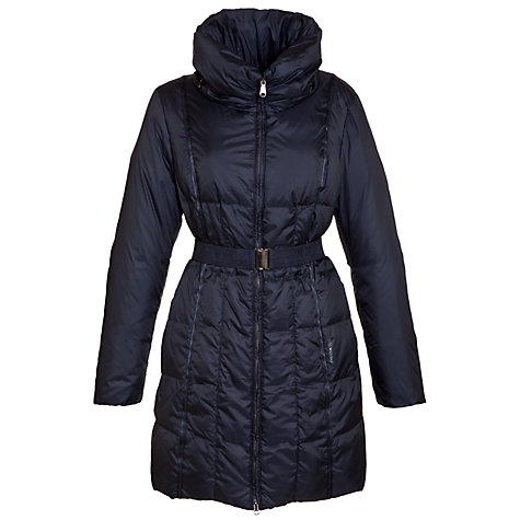 Buy Geox Puffy Collar Quilted Coat Online at johnlewis.com