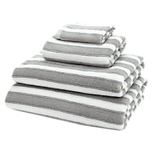 Buy Jigsaw Antique Stripe Towels Online at johnlewis.com