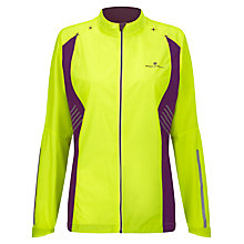 Buy Ronhill Vizion Windlite Jacket, Yellow/Purple Online at johnlewis.com