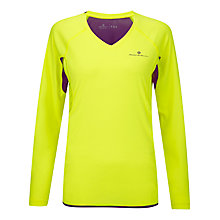 Buy Ronhill Women's Vizion Long Sleeve Running Top Online at johnlewis.com