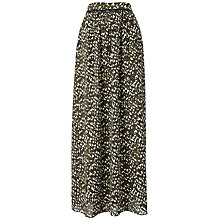 Buy Whistles Petal Scattered Print Skirt, Multicolour Online at johnlewis.com