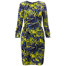 Buy Whistles Izzey Tropical Dress, Green / Multi Online at johnlewis.com