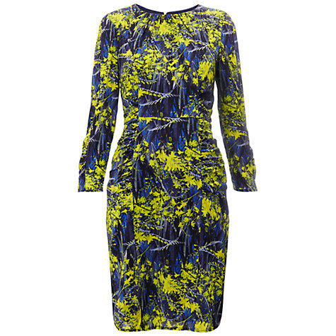Buy Whistles Izzey Tropical Dress, Green/Multi Online at johnlewis.com