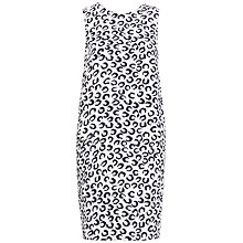Buy Whistles May Cocoon Lucky Dress, White / Black Online at johnlewis.com