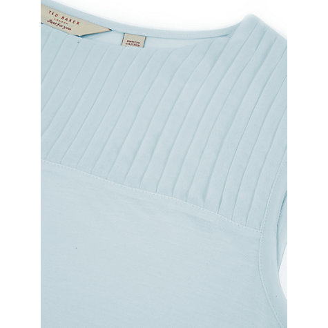 Buy Ted Baker Eyma Pleat Neckline Top Online at johnlewis.com