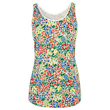 Buy Oasis Flower Print Vest Top, Multi Online at johnlewis.com