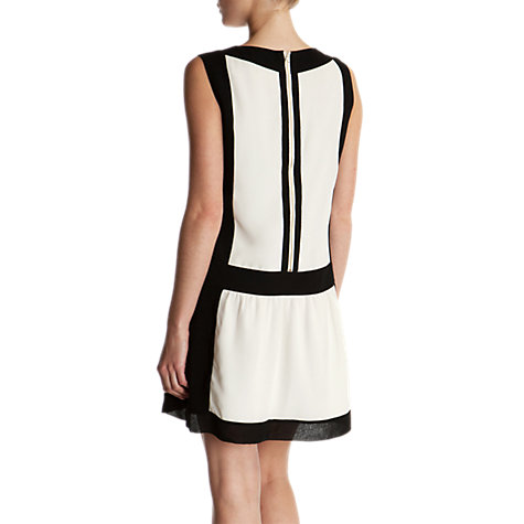 Buy Ted Baker Imogine Judeo Colour Block Dress, Ecru Online at johnlewis.com