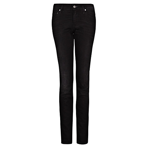 Buy Mango Slim Fit Jeans, Black Online at johnlewis.com