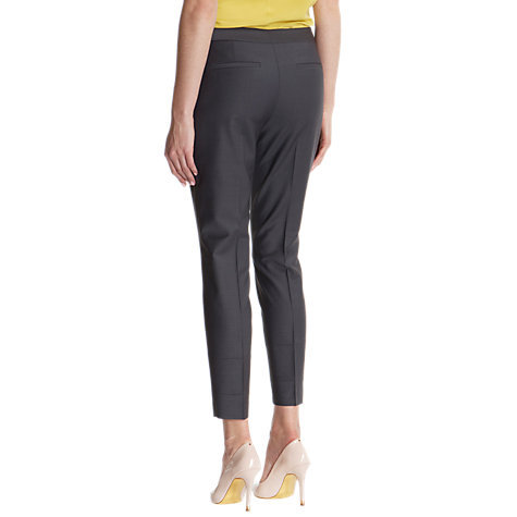 Buy Ted Baker Laelt Shiny Suit Trousers, Ash Online at johnlewis.com