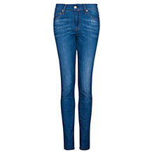 Buy Mango Slim Fit Jeans, Dark Wash Online at johnlewis.com